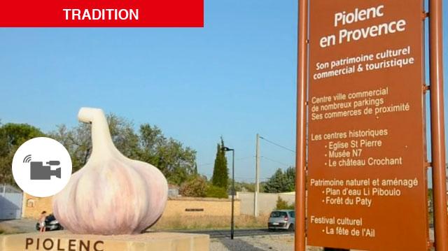 Vaucluse/Piolenc : fête de l'ail, une joyeuse tradition vieille de 38 ans.