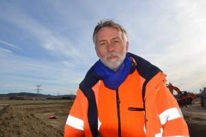 Robert Gaday, archéologue responsable d'opération à l'Inrap