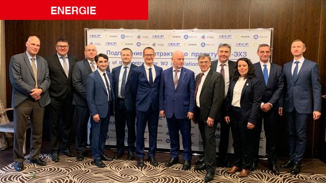Nucléaire / France: Orano signe un contrat avec le groupe russe Rosatom