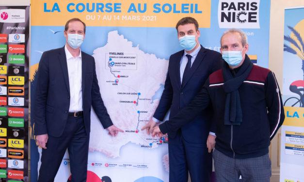 VAUCLUSE / RHÔNE LEZ PROVENCE : LA COURSE LE PARIS NICE FERA ETAPE A BOLLENE LE 11 MARS 2021