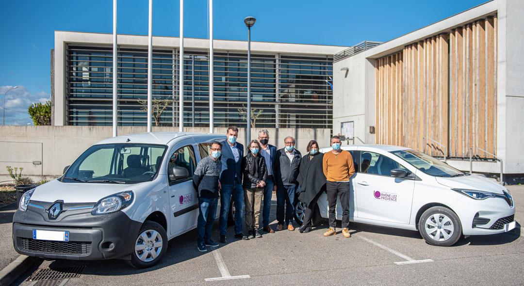 La communauté de communes Rhône Lez Provence s'équipe en voitures électriques